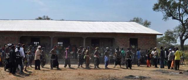 School house in Shangbarella